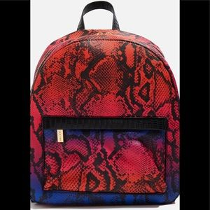 Topshop backpack animal print
